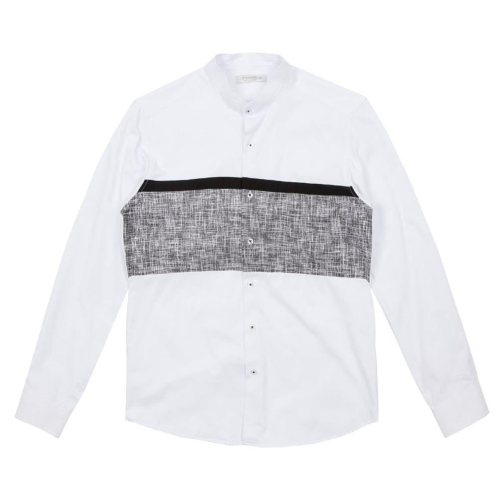 남자 차이나카라 배색 셔츠 남자와이셔츠 와이셔츠 남자셔츠 옥스포드셔츠 남성셔츠 남자정장셔츠 정장와이셔츠 빅사이즈셔츠 화이트셔츠 블랙셔츠 슬림핏셔츠 무지셔츠 심플셔츠 남자체크셔츠 남자스트라이프셔츠