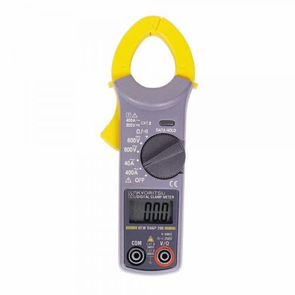 교리쯔 클램프 테스터 (소형) 4160744 디지털테스터 클램프 클램프테스터 측정공구 측정