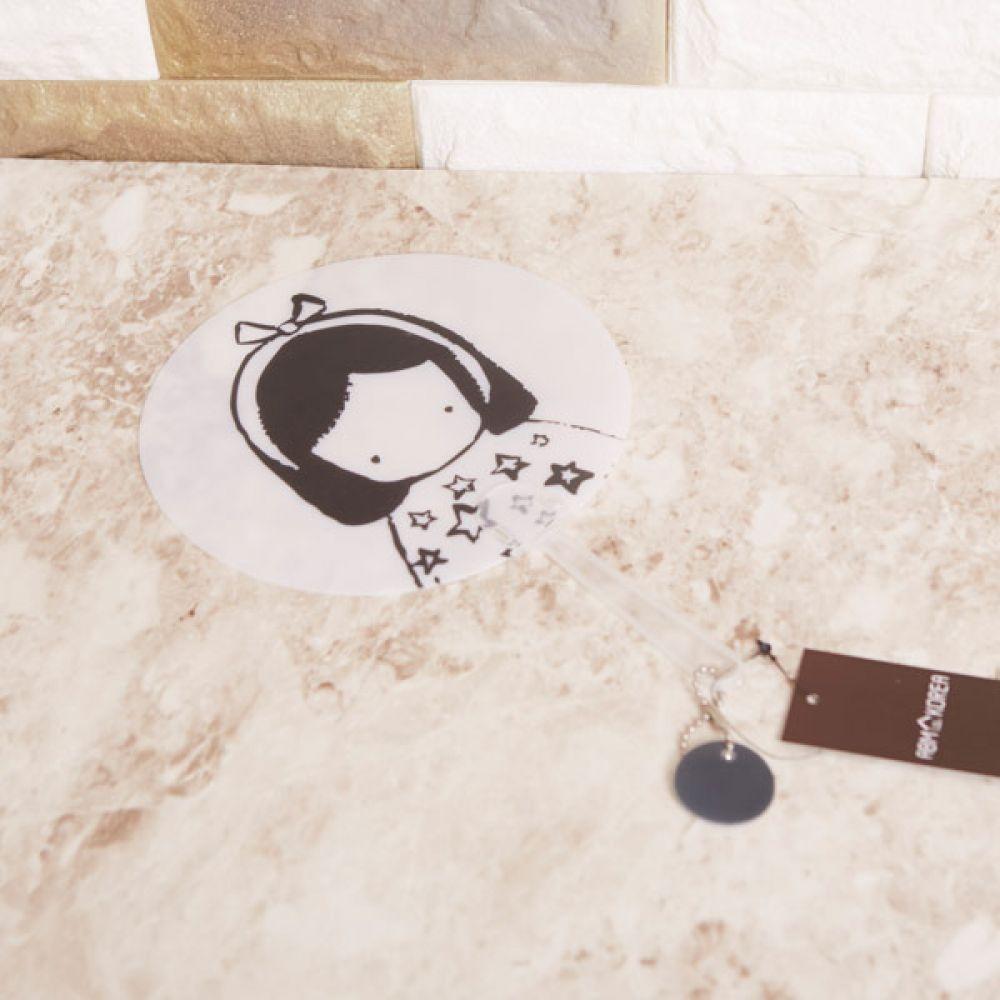 캐릭터 손부채 여자아기 캐릭터부채 여름 휴대용부채 휴대용부채 부채 캐릭터부채 여름 손부채
