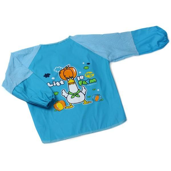푸른팬시 Have fun 미술가운 (블루) (사이즈 택1) 앞치마 어린이앞치마 미술용앞치마 아동앞치마 요리앞치마