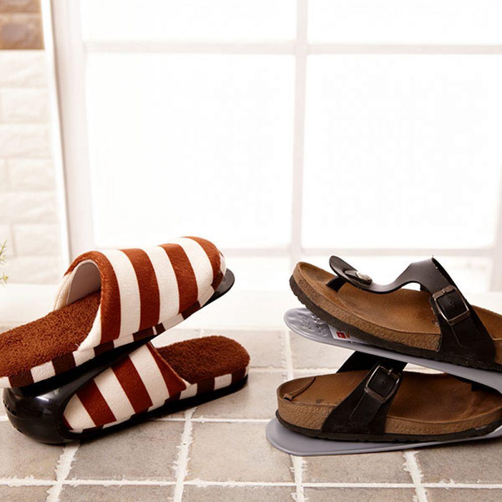 매직 신발정리대 랜덤발송 틈새수납 신발수납 신발정리대 신발정리 틈새수납 신발수납 신발장