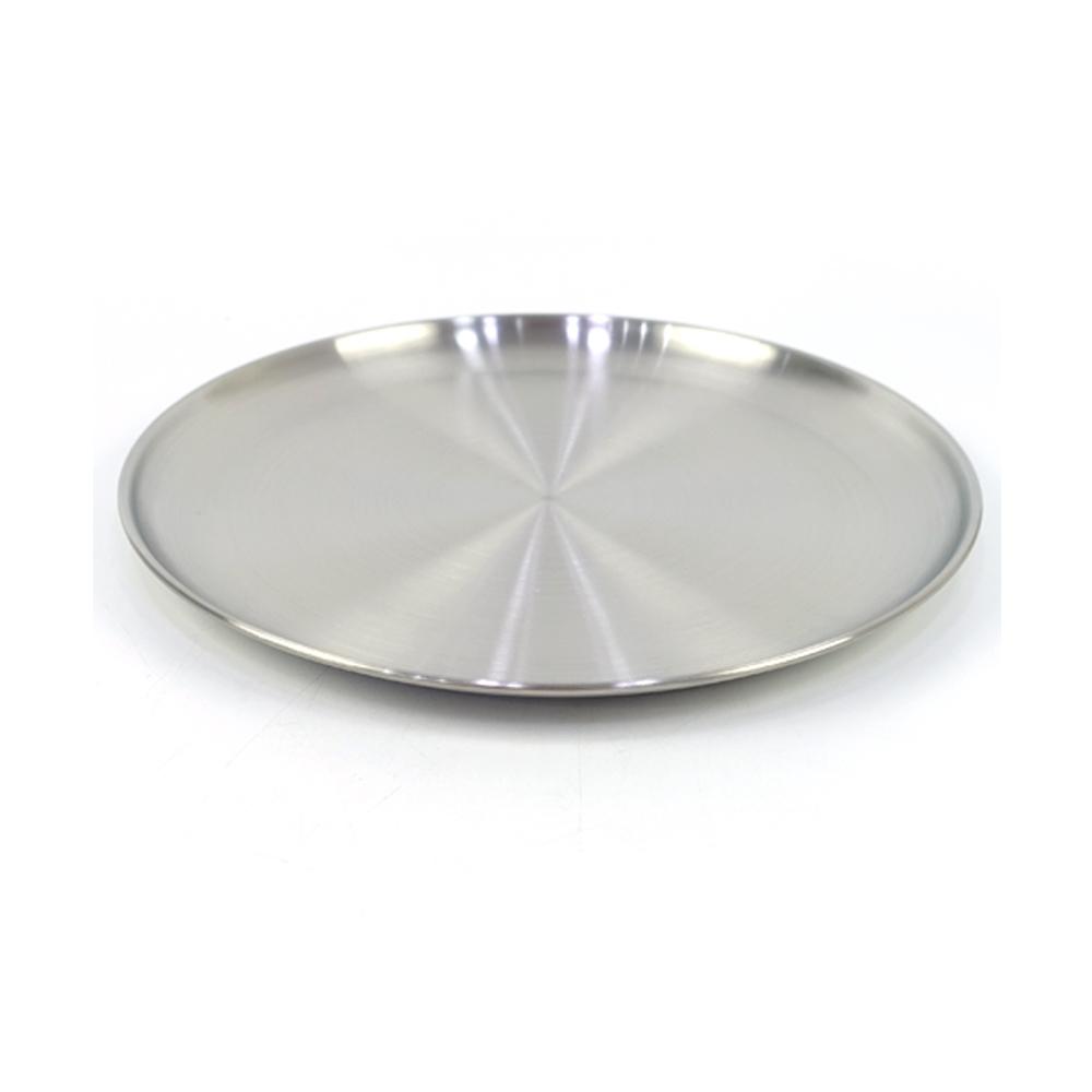 델키 어바노 원형 접시 26cm접시 스텐접시 둥근접시 원형접시 스텐원형접시 스텐식기 주방식기 업소용접시 접시 스텐접시 둥근접시 원형접시 스텐원형접시