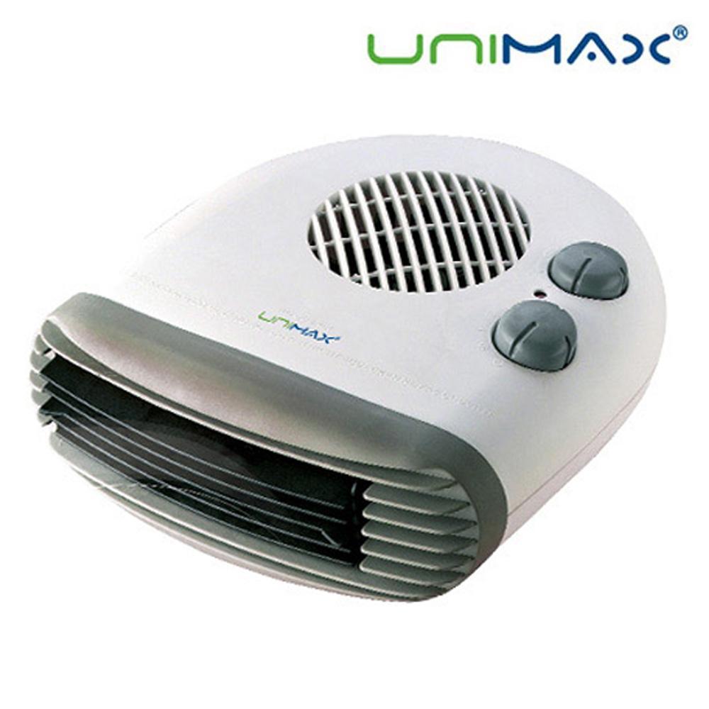 유니맥스400 탁상용 온풍팬 미니히터 온풍기 히터 난로 전기히터 미니히터