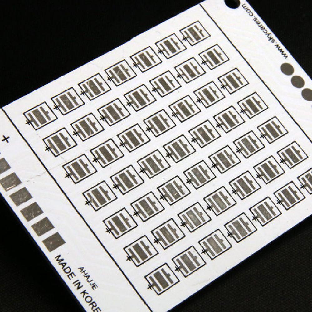 3535 LED PCB 기판 알루미늄 방열판 메탈 PCB 7S1P 49개 2판 PCB LEDPCB LED기판 방열판 LED방열판 메탈PCB 알루미늄방열판 METALPCB 메탈방열판 3535LEDPKG