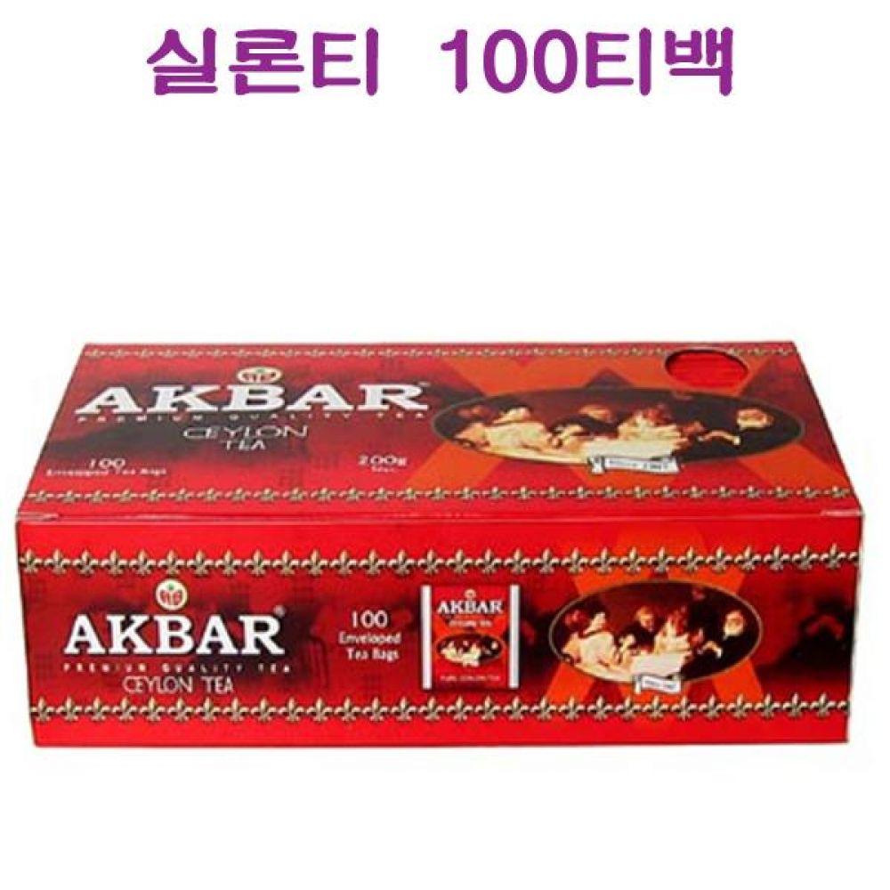 아크바 9102 실론티 100티백 식품 농수축산물 차 음료 음료기타