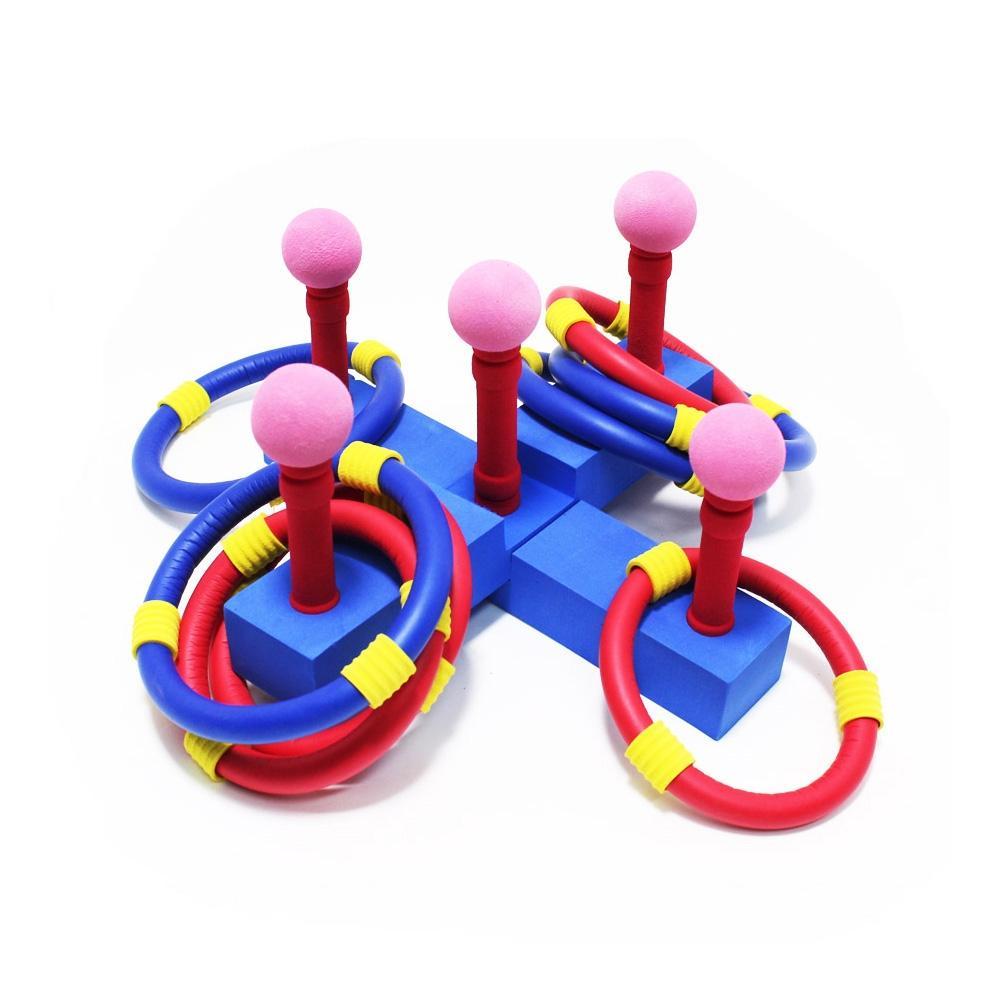 교구 어린이 소프트 고리 던지기 게임 놀이 어린이집 초등학교 장난감 5살장난감 3살장난감 4살장난감