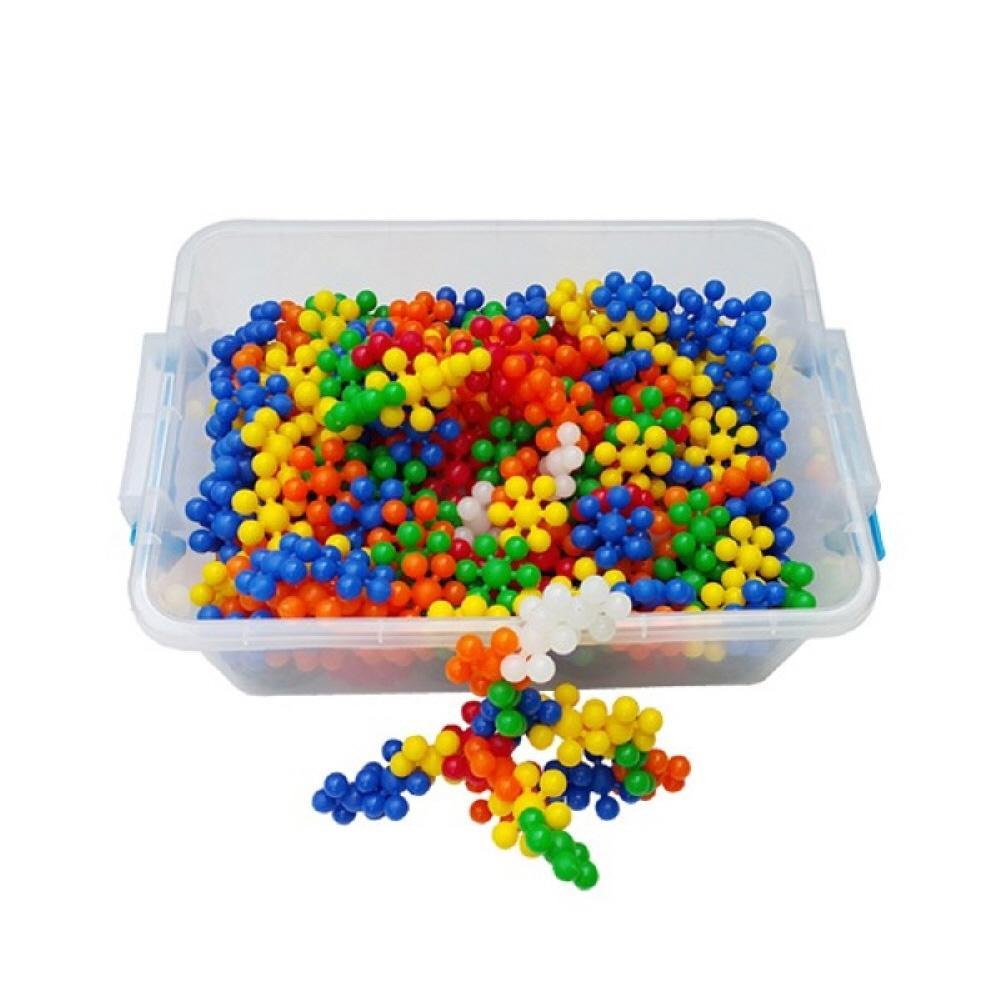 박스 유아 만들기 장난감 블록 미니 눈송이 블럭 리빙 퍼즐 블록 블럭 장난감 유아블럭