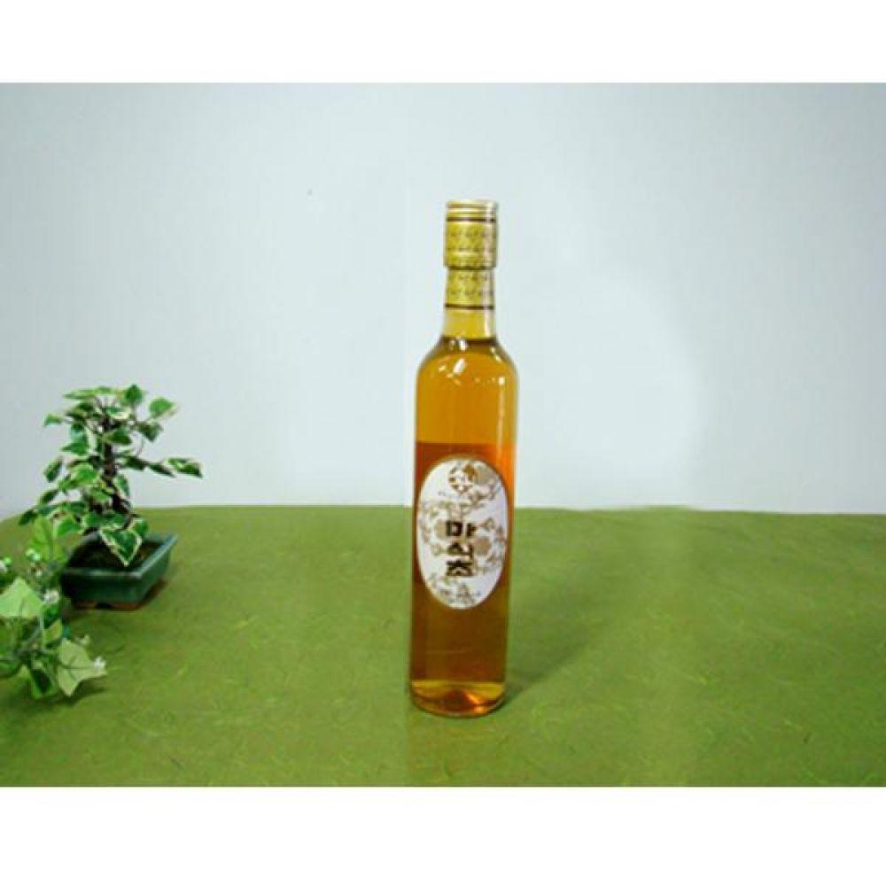 류충현 마식초 360ml 원료의 맛과 향이 살이있는 고급 음용 식초 건강 식품 버섯 마 식초