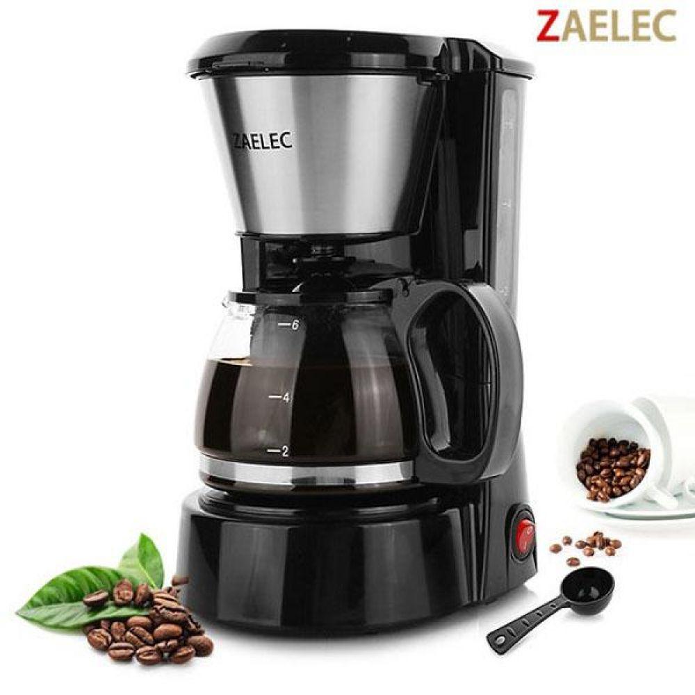 자일렉 커피메이커 (6잔) 보급형 커피머신 커피메이커 커피포트 온도유지 주방용품