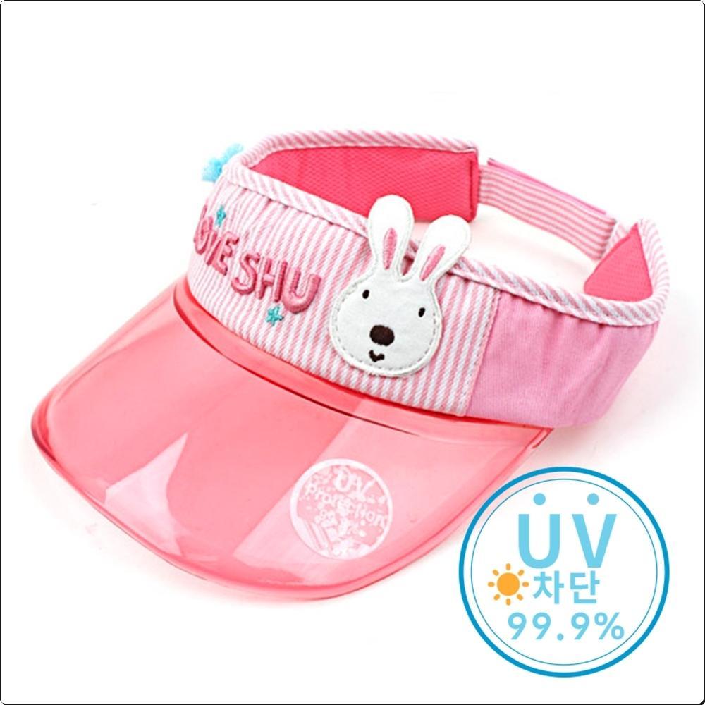 러브슈 폼폼 UV 차단썬캡 (바이저 모자)(736538) 캐릭터 캐릭터상품 생활잡화 잡화 유아용품