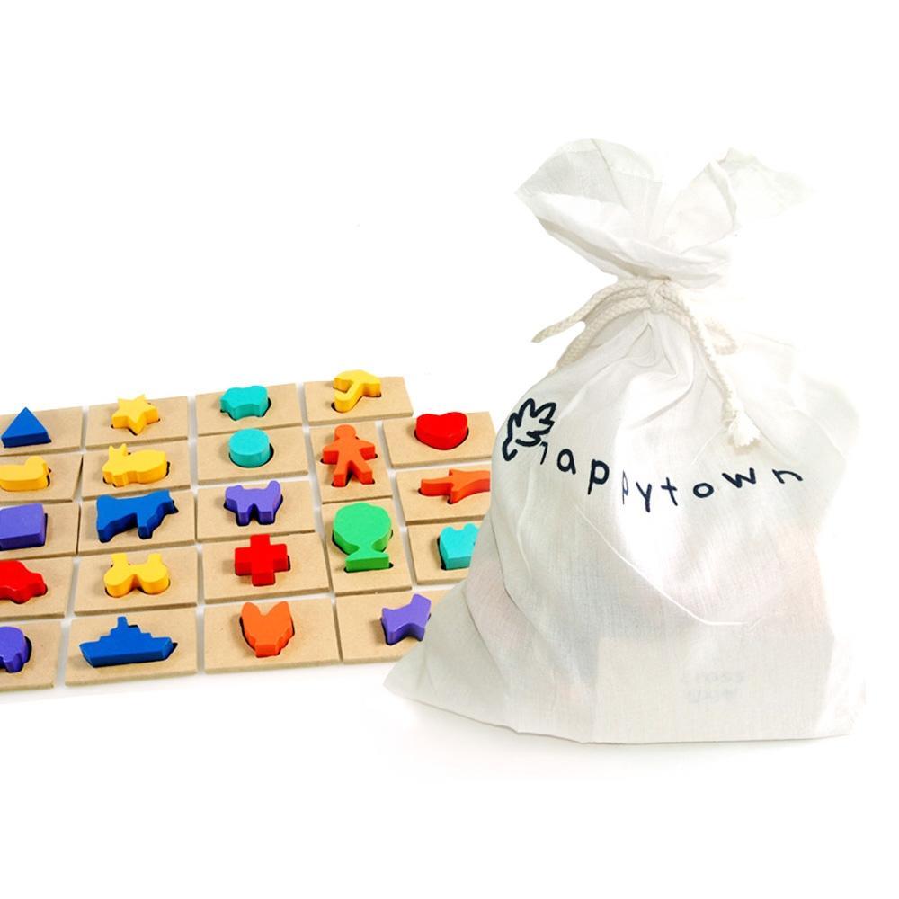 학습 4살 아이 장난감 영어 한글 퍼즐 맞추기 유아 퍼즐 블록 블럭 장난감 유아블럭