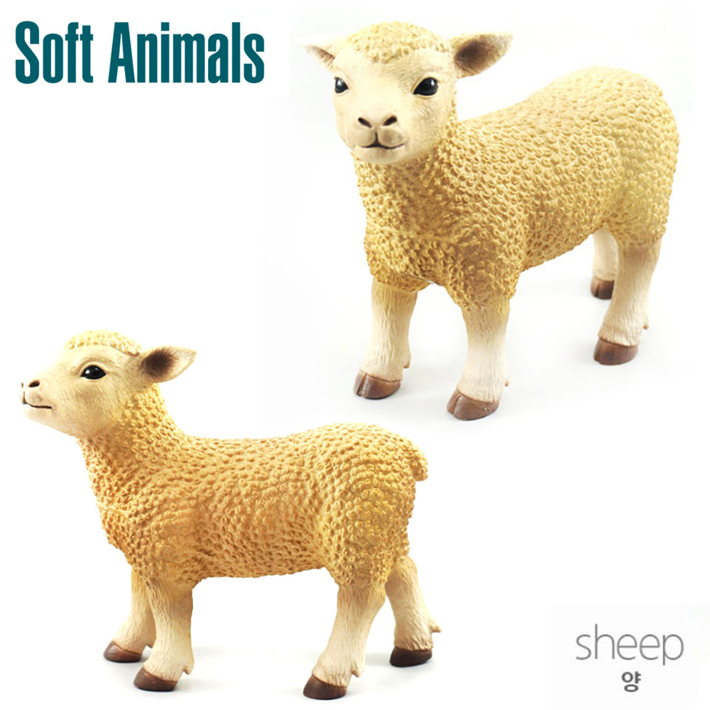 소프트 애니멀 양 학습완구 동물모형 동물학습 장난감 동물완구 동물학습 동물모형 학습완구 장난감