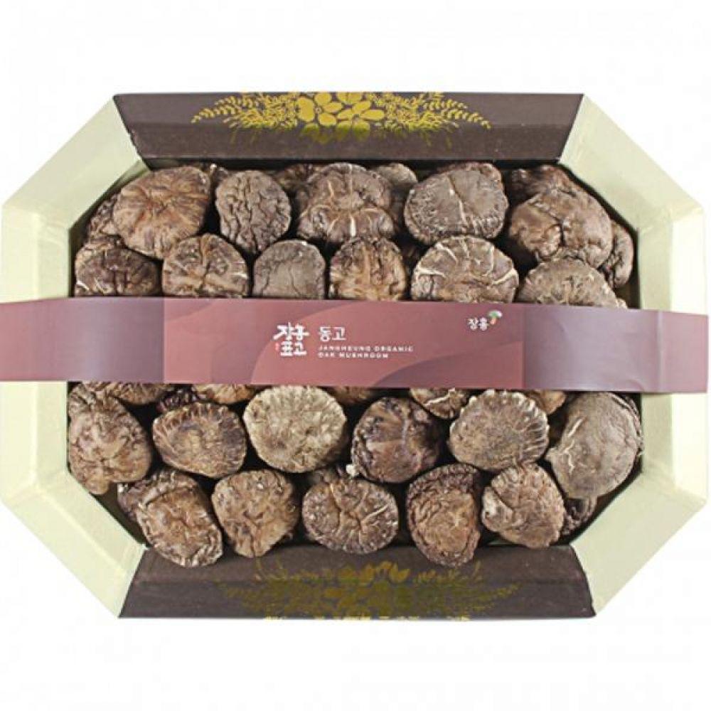 동고1호 (중)500g 쇼핑백 보자기포장 식품 농산물 채소 표고버섯 선물세트