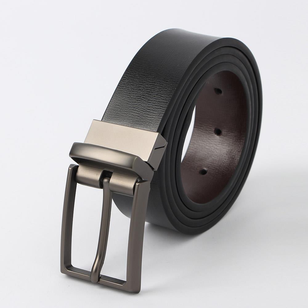 110cm 양면 가죽벨트 블랙/브라운 슈트벨트 양면벨트 패션가죽벨트 양면벨트 캐쥬얼벨트 슈트벨트 허리띠