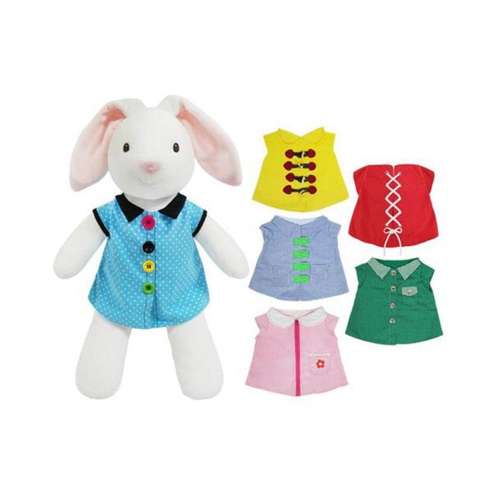 인지놀이 토끼 옷입히기 완구 문구 장난감 어린이 캐릭터 학습 교구 교보재 인형 선물