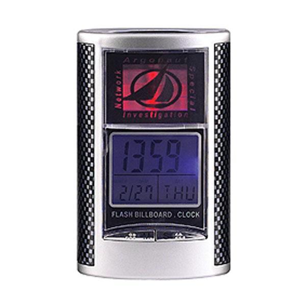 탁상시계 사진 삽입 백라이트 탁상용시계 탁상시계 클립시계 메모클립시계 홀더시계 시계거울