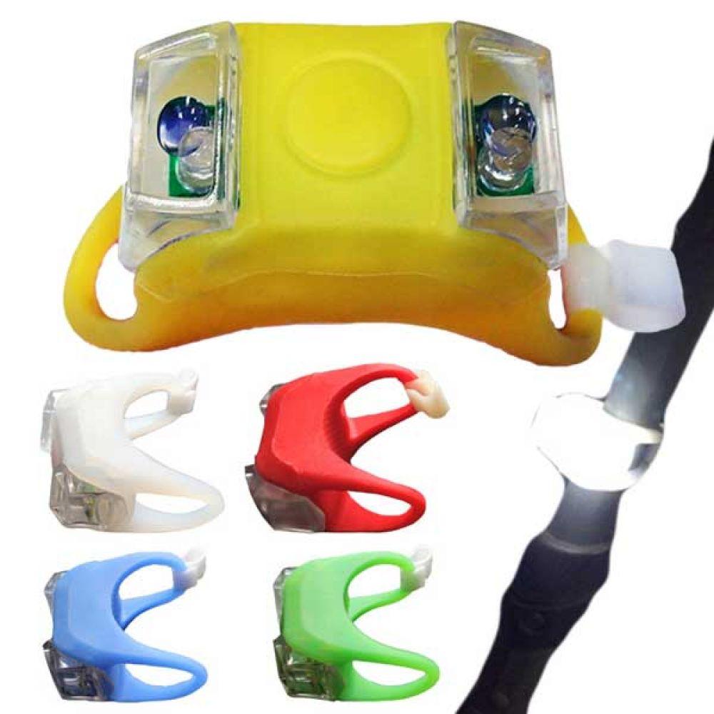 유모차 자전거 야간 LED 안전등 랜턴 500011 유모차용품 후미등 전면 전조등 라이딩 산행 악세사리 조이멀티 엠케이 안전등
