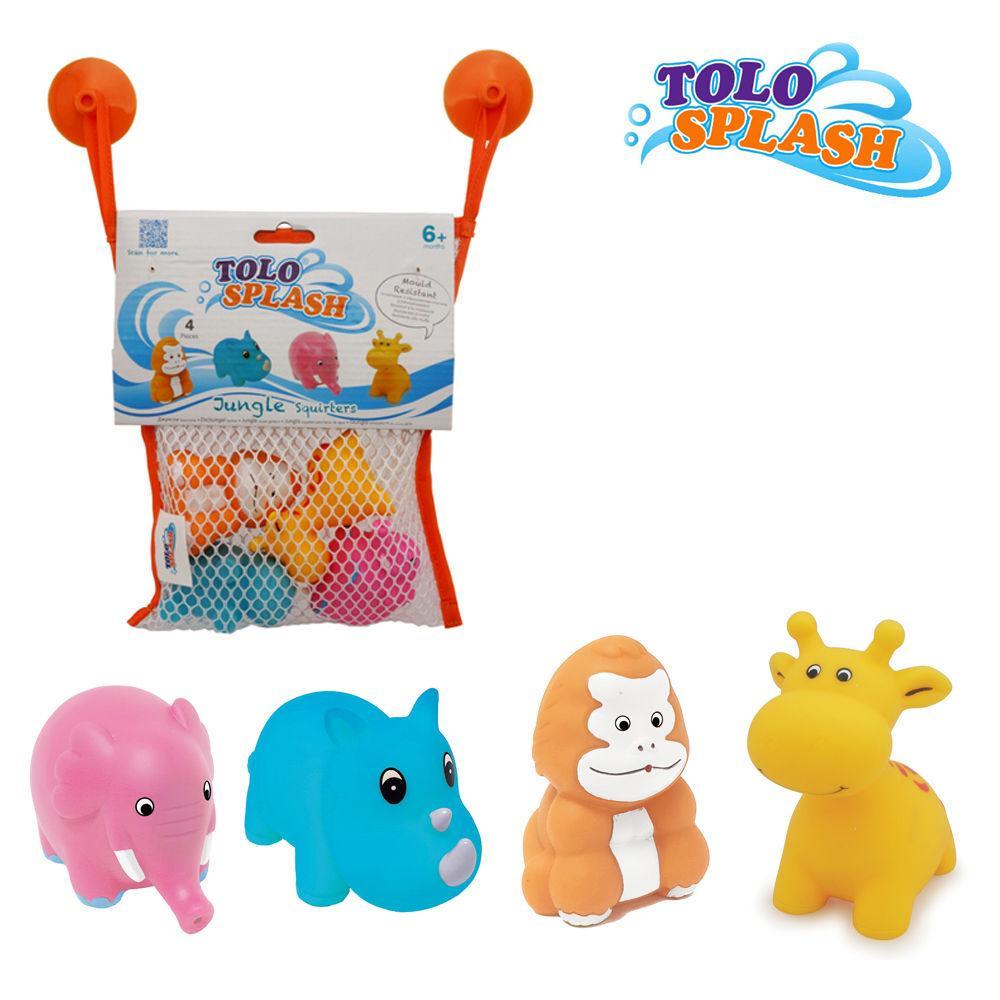톨로(스플래시) 정글 스쿼터 (50405) 목욕완구 장난감 목욕놀이 유아완구 아기완구