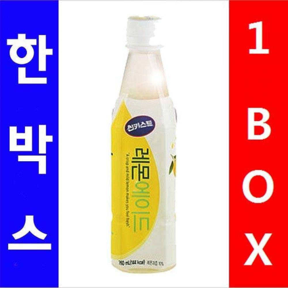 해태음료)레몬 에이드 350ml 페트병 1박스(24개) 대량 도매 대량판매 세일 판매