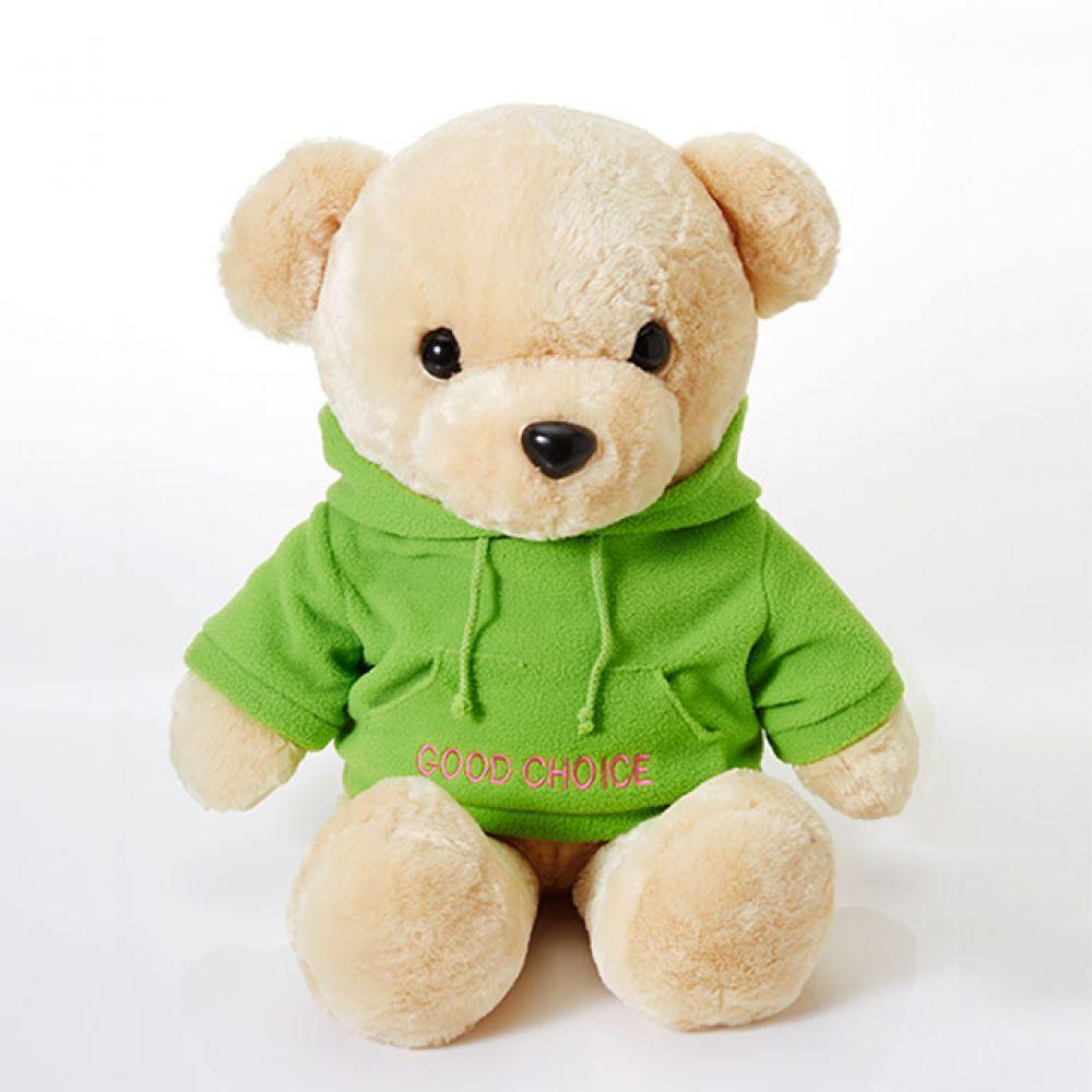 라스포후드베어 소형-브라운 동물인형 테디베어 곰돌이인형 애니멀인형 베어인형 귀여운인형 봉제인형 크리스마스선물 어린이날 곰인형
