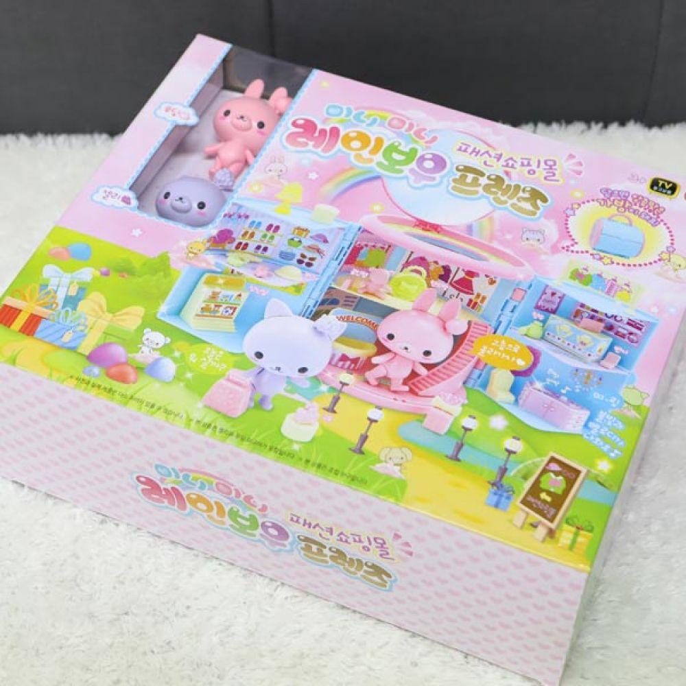 레인보우프렌즈 패션쇼핑몰 어린이선물 역할놀이 역할놀이 유아장난감 어린이선물 캐릭터인형 소꿉놀이