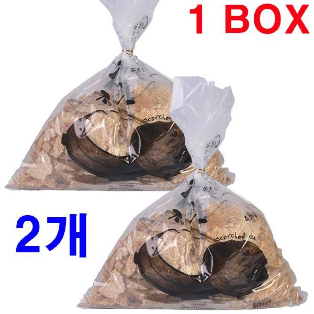 오래구워 구수한 누룽지 4.5kgx2개(한박스) 국산 간식 죽 영양식 노인 백미 쌀 과자 가마솥 누렁지 탕 옛날 선식 수제