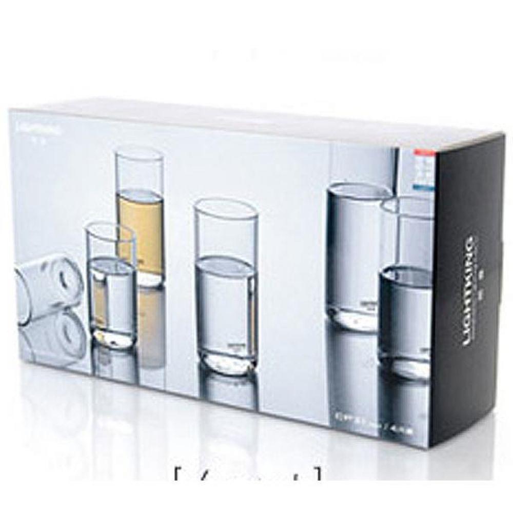 라이트킹 CP20 4p세트 명존 글라스 찻잔내열유리 차 커피 컵 잔 유리잔