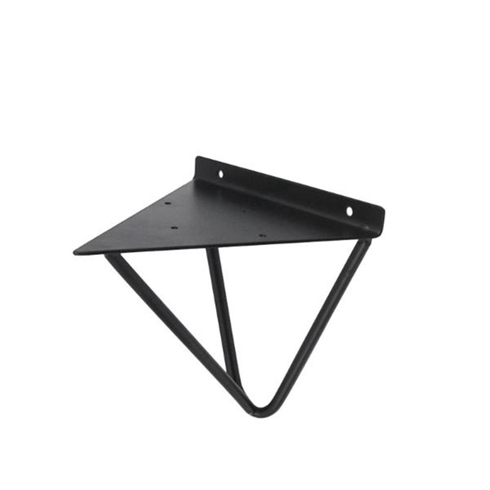 흑색 카페 인테리어 삼각형 강철 선반대 선반 받침 인테리어철물 인터넷철물점 온라인철물점 철물점 인테리어
