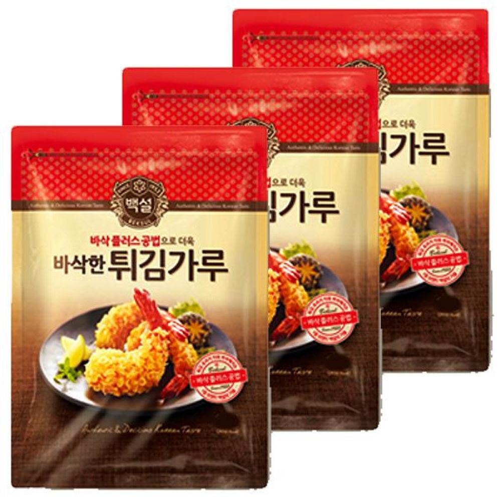 CJ)튀김가루 500g x 10개 튀김 새우 빵 오징어 감자