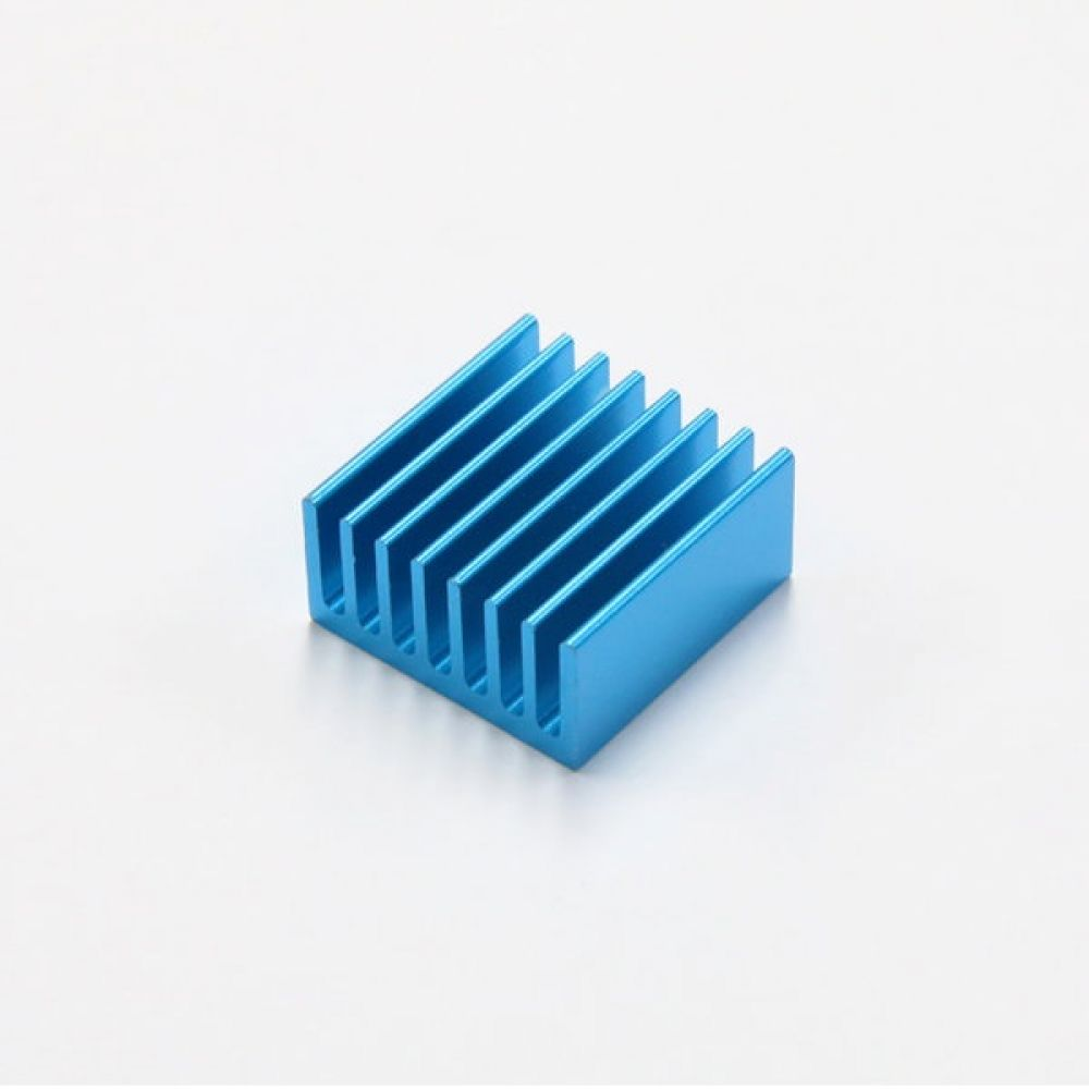 소형 알루미늄 칼라 방열판 히트싱크 20x20x10mm 파랑 5개 히트싱크 방열판 칼라방열판 다용도 칼라히트싱크 알루미늄방열판 히트싱크 쿨러
