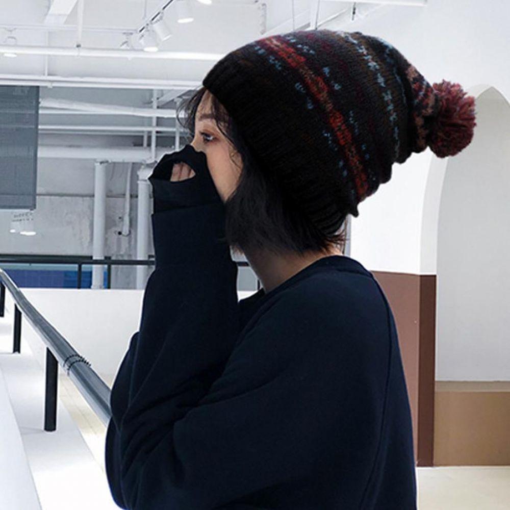 미떼 방울모 겨울 여성 기모 패션 비니 방한 모자 털모자 여성겨울모자 여성패션모자 여성비니모자 방울비니 겨울여자모자 귀달이모자 여성방한모자 여성니트모자 겨울털모자