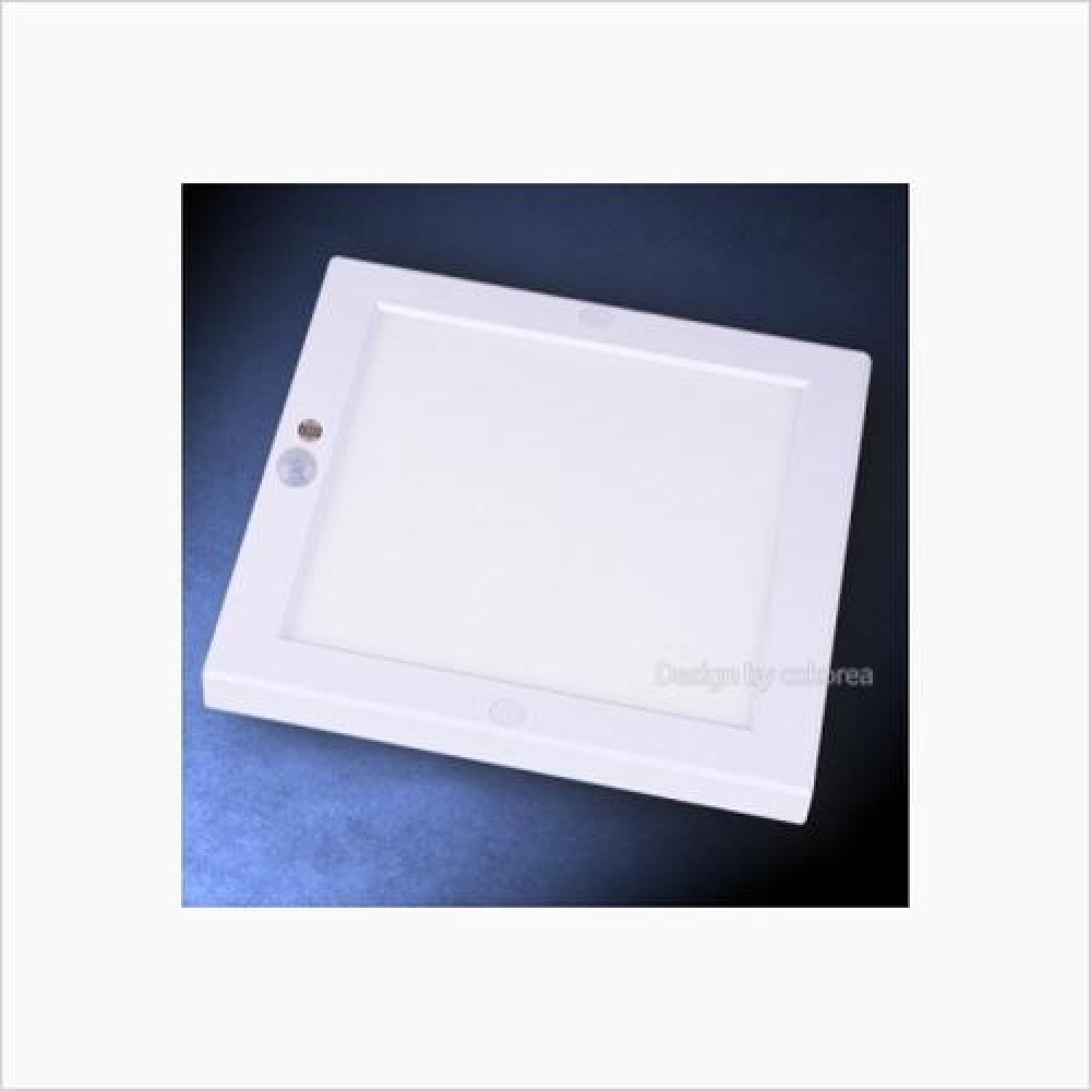 인테리어조명 사각 엣지 LED센서등 20W 주광색 철물용품 인테리어조명 LED벌브 LED전구 전구 조명 램프 LED램프 할로겐램프 LED등기구