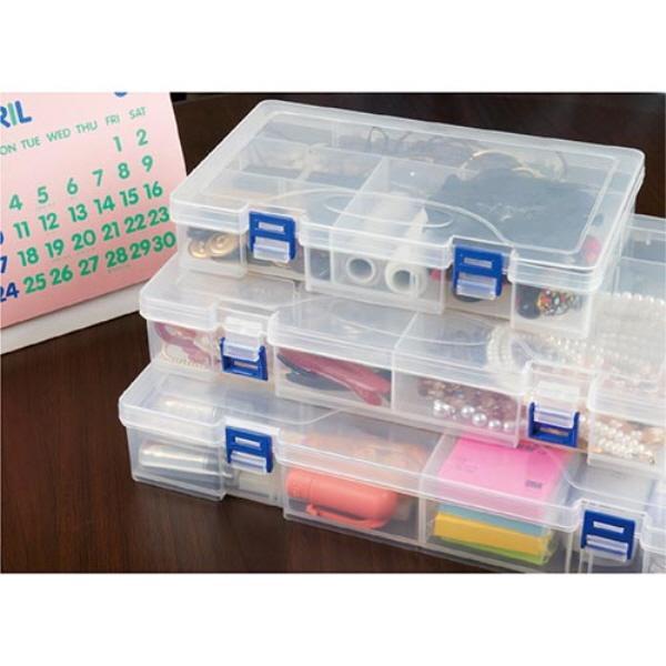클리어멀티박스 소 카파맥스 사무용품 다용도함 사무실 사물함 정리함 다용도 멀티박스 소
