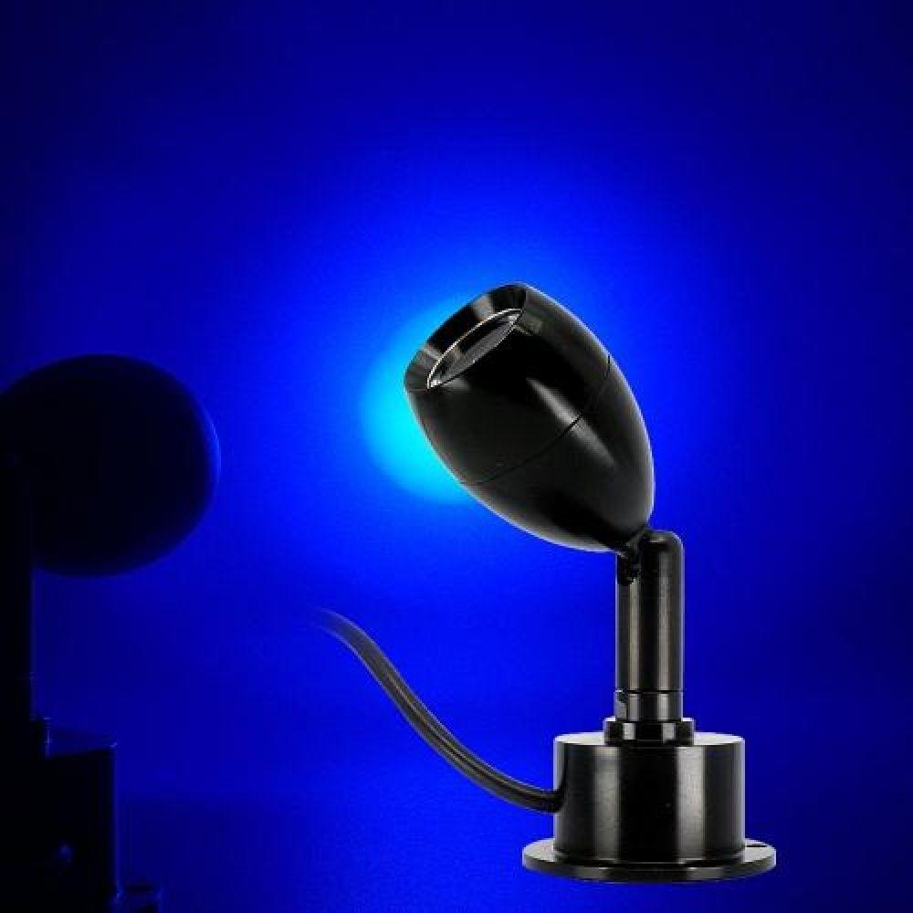 MWSHOP 5V용 USB 스위치 LED미니 써치등 블루LED 무드등 엠더블유샵