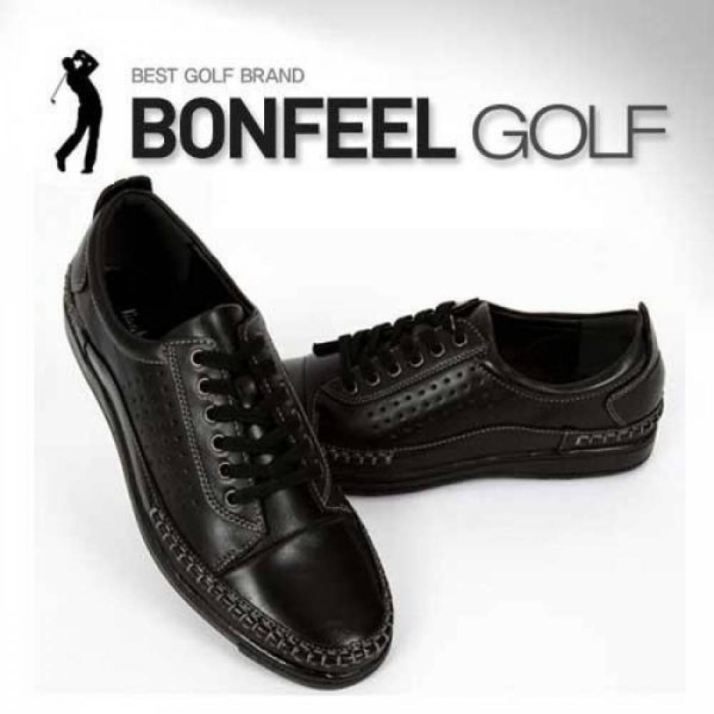 BFM1411 블랙 본필 골프화 남성골프화 패션골프화