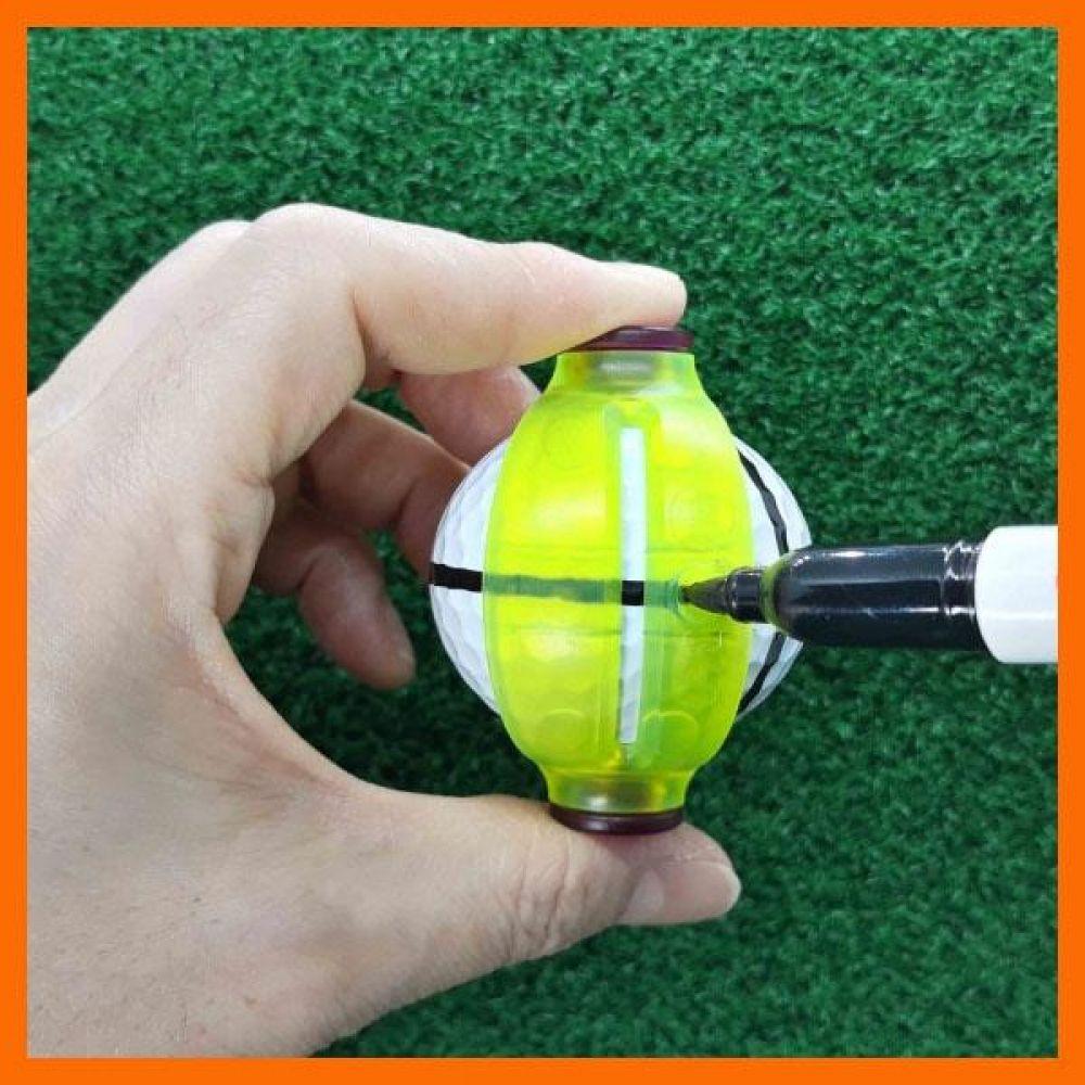 360도 볼라이너 골프용품 골프공 공라인 볼라이너 볼라인마커 회전식볼라이너 골프용품 스포츠용품