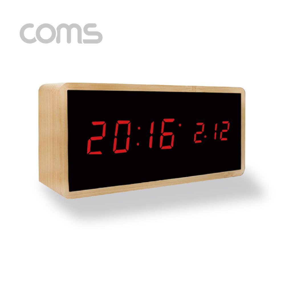 나비 우드 디지털 탁상 전자 시계 컴퓨터용품 PC용품 컴퓨터악세사리 컴퓨터주변용품 네트워크용품 나비 우드 디지털 탁상 시계 전자시계