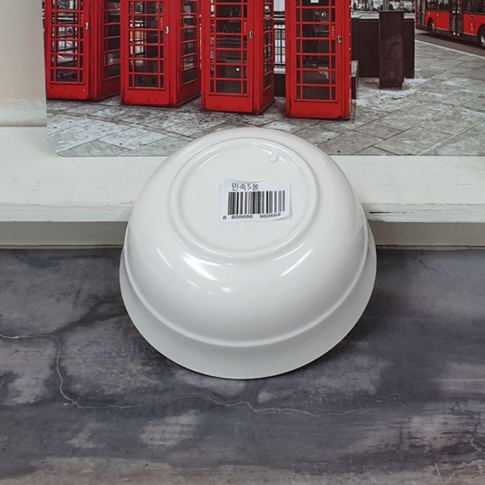 민속 5볼 뷔페접시 면기 식당그릇 그릇볼 접시 그릇 면기 주방용품 접시 뷔페접시 식당그릇