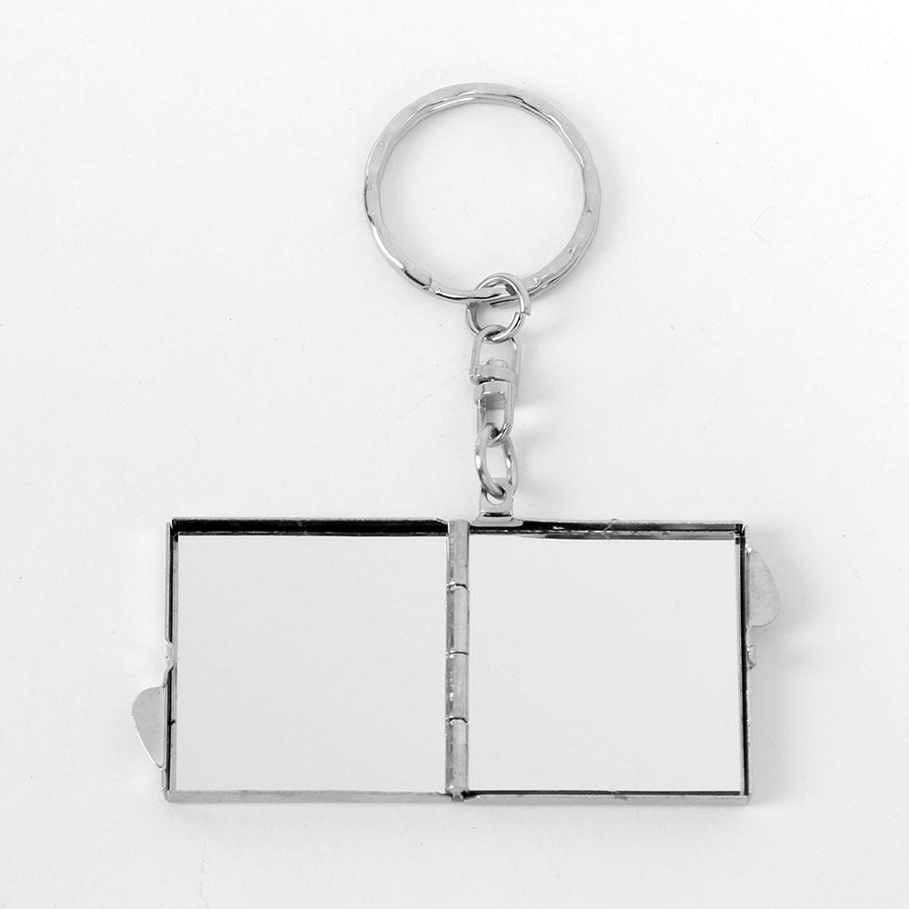 정사각형 손거울 엘루 미니거울 사각거울 화장거울 사각거울 화장거울 휴대용거울 미니거울 콤팩트거울