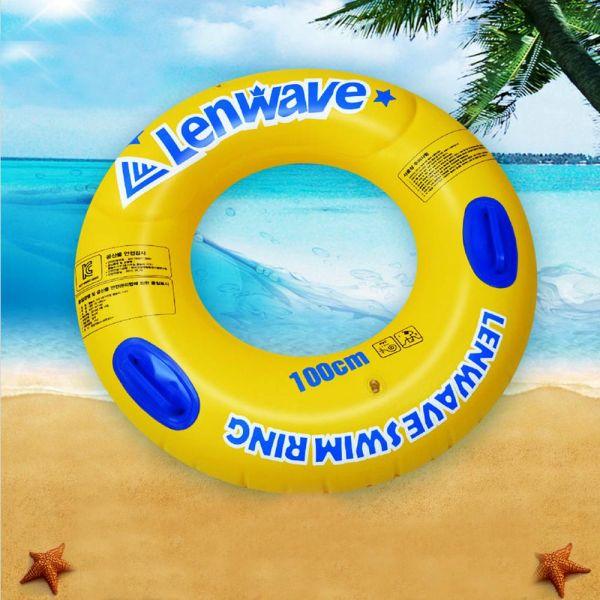 KC인증 런웨이브 튜브 100cm 물놀이용품 성인 아동 물놀이용품 보행기튜브 튜브 물놀이튜브 원형튜브