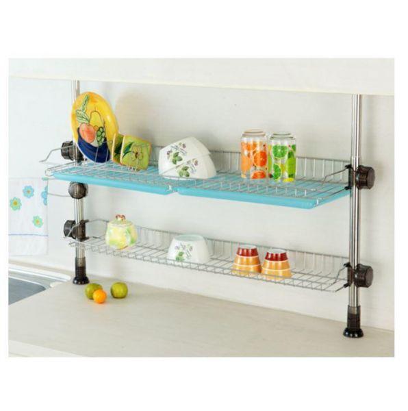 루비코아 씽크선반 800(2단) 설거지건조대 설거지선반 식기건조대 그릇정리대 싱크대선반