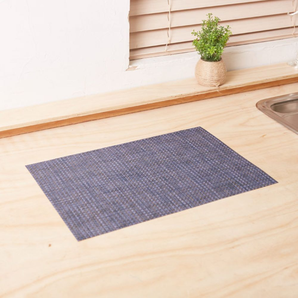 식탁매트 블루 테이블매트 주방용품식탁 테이블웨어 주방용품식탁 테이블매트 식탁매트 테이블웨어