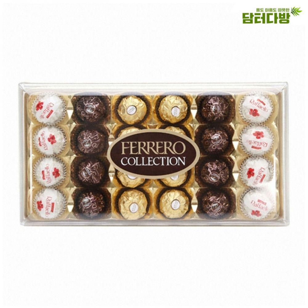 페레로로쉐 컬렉션 T24 / 선물용초콜릿 페레로로쉐 맛있는초콜릿 초코볼 고급스러운 선물용으로좋은 발렌타인데이선물 화이트데이선물