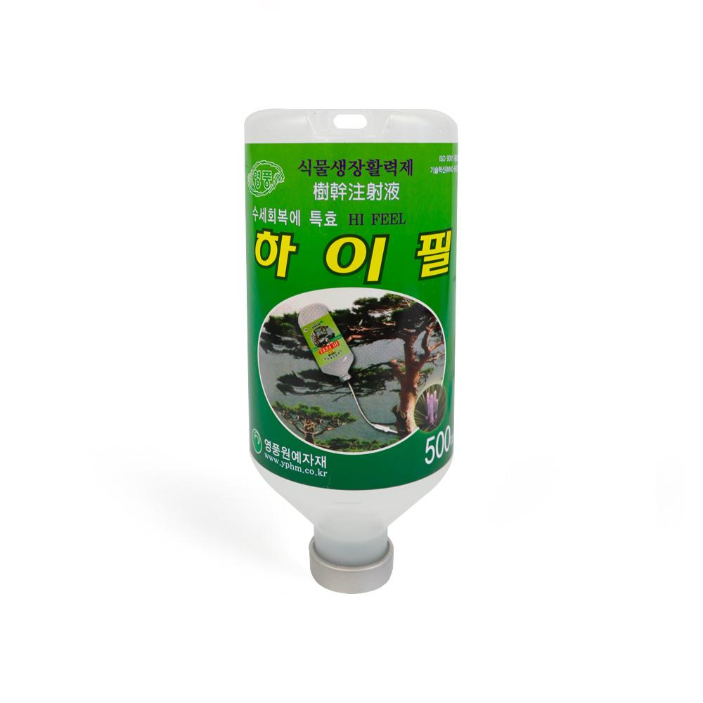 하이필500cc  식물영양제 소나무영양제 수간주사액 식물영양제 소나무영양제 식물활력제 나무영양제 수간주사액