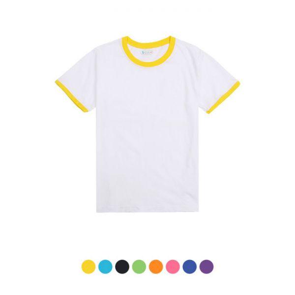 링거 라운드 반팔(아동용) 30수 라운드 반팔 티셔츠 반팔티 아동