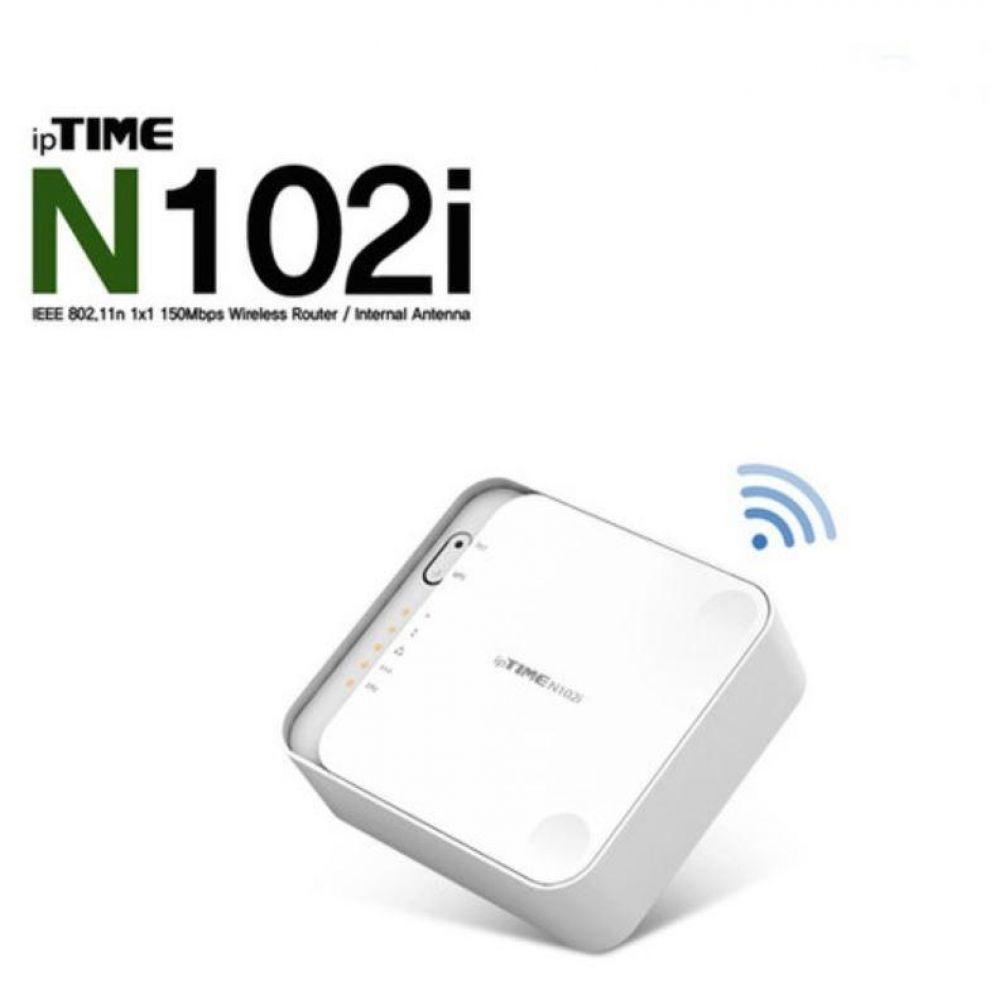 무선공유기N102E1P IPTIME 인터넷 와이파이 가정용 집