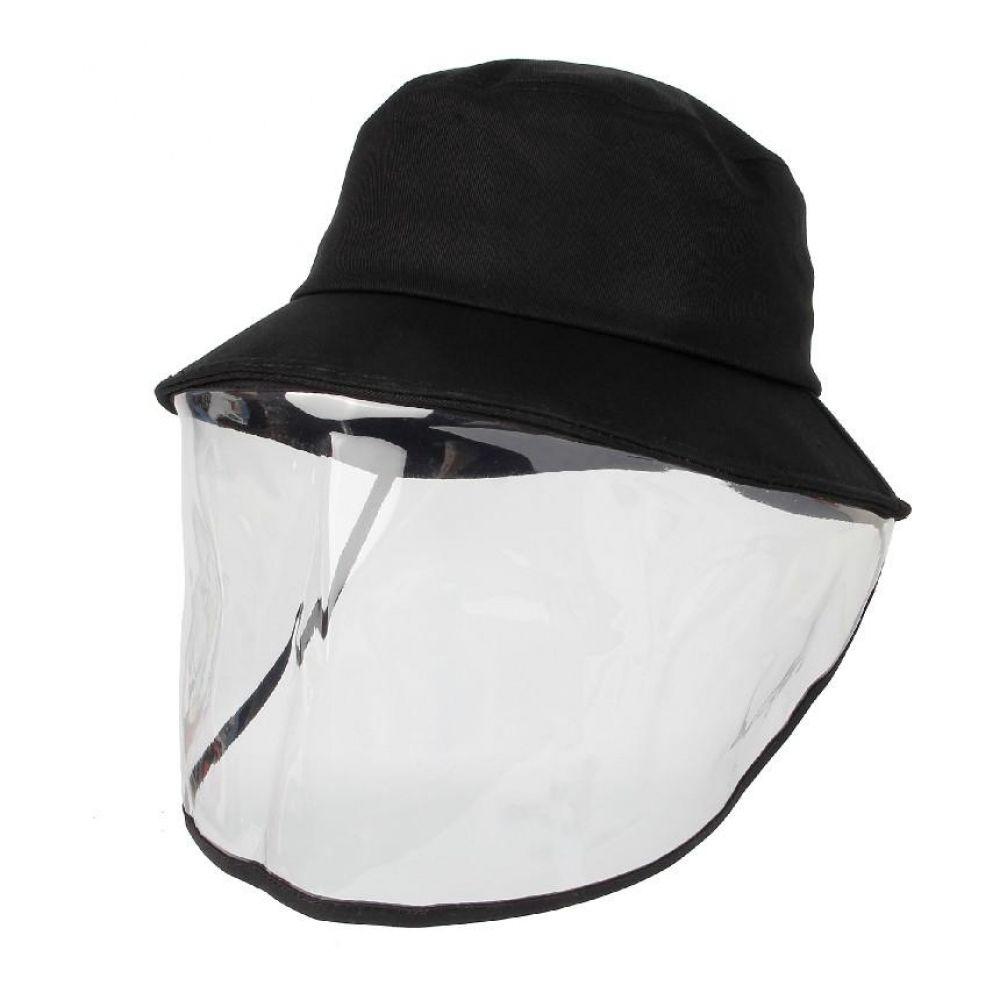 방역 벙거지 투명 안면보호 버킷햇 비치모자 특이한모자 투명한모자 투명모자 pvc모자