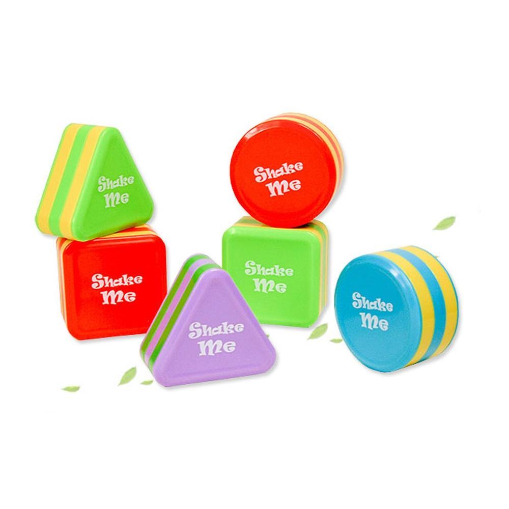 음악 어린이 장난감 아이 완구 도형 쉐이커 3종세트 초등학교 장난감 2살장난감 3살장난감 4살장난감