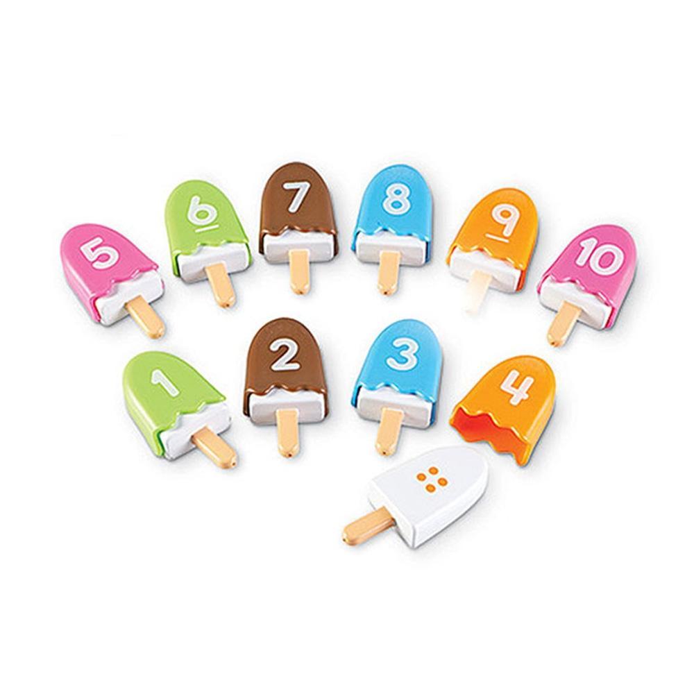 숫자놀이 어린이 아이 학습 교구 스마트 아이스크림 유아원 장난감 학습교구 교구 놀이교구