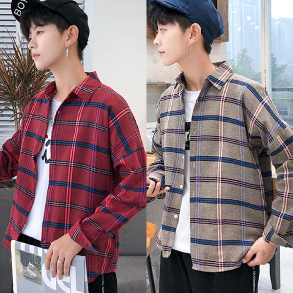 남녀공용 캐주얼셔츠 커플남방 DS-AL485N 남녀공용남방 남방셔츠 캐주얼셔츠 커플남방 캐주얼남방